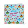 Κάρτα Γενεθλίων με Ζωάκια