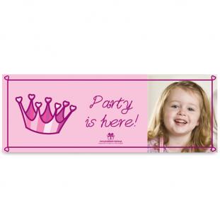 Banner για την Πόρτα του Πάρτι με Φωτογαφία