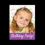 Πρόσκληση για Μασκέ Παιδικό Πάρτι Γενεθλίων