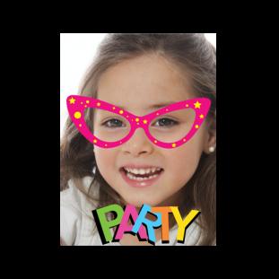 Πρόσκληση για Αποκριάτικο Παιδικό Πάρτι για Κορίτσια